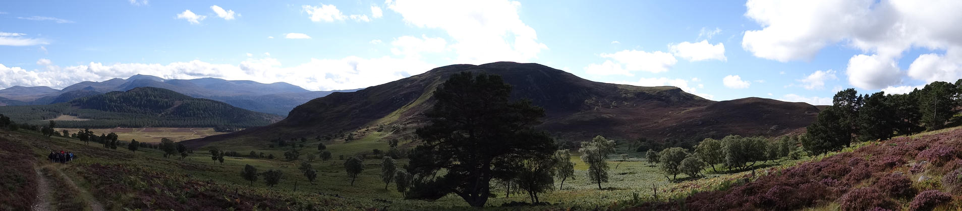 Scotland Highlands Panorama by Corycat