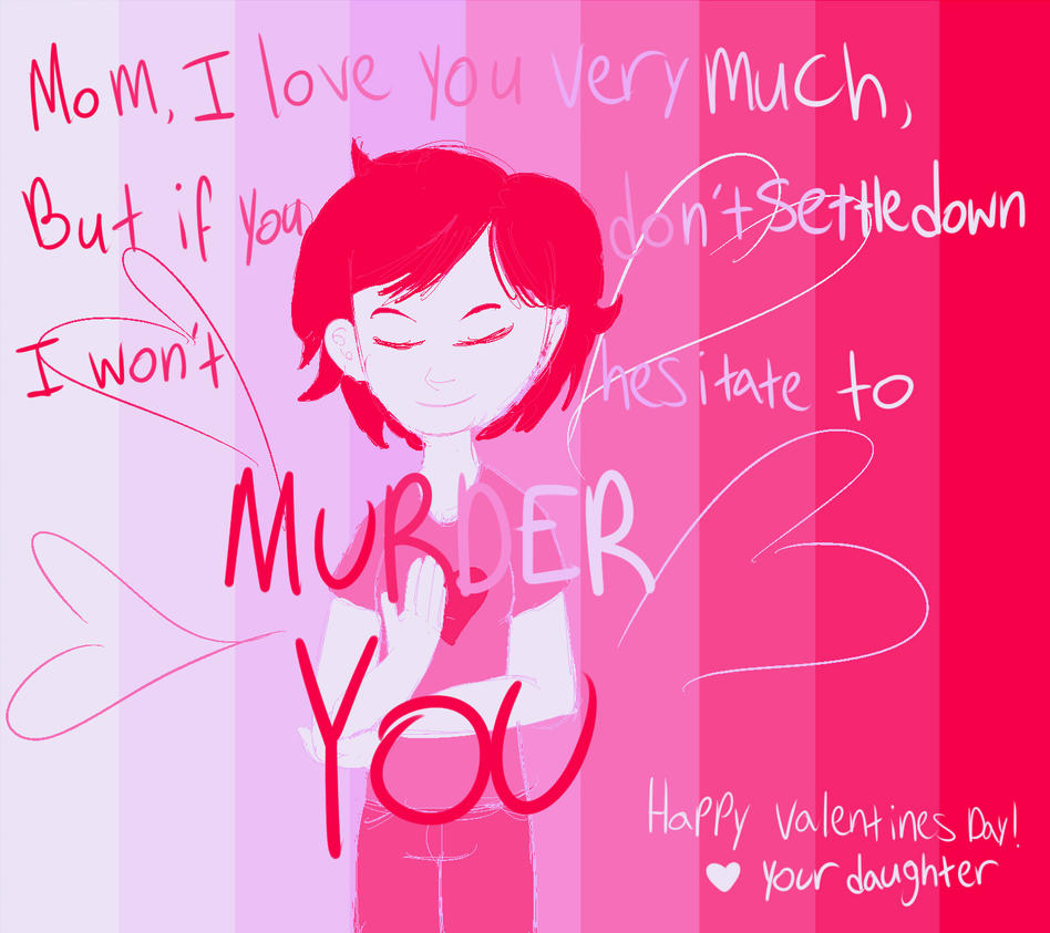 My moms Valentines day card by BringerOfPlates on DeviantArt – Valentines Cards for Mom