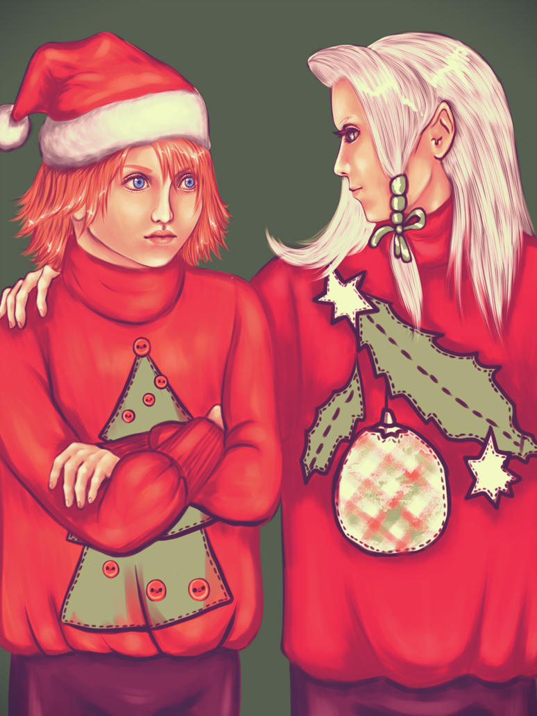 FF Secret Santa 17 by yazoo-s