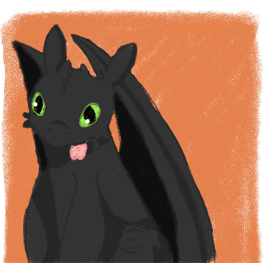 Toothless by pacobird1