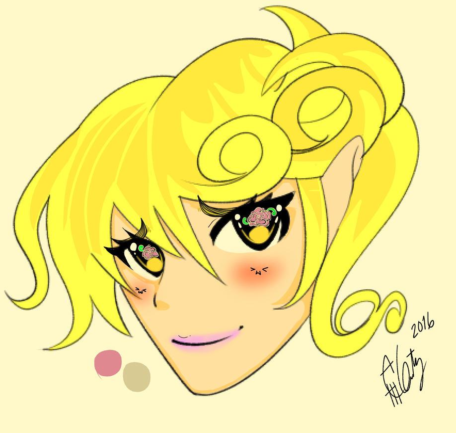GreaV.6 Hair Yellow :3 by KiraCeaser