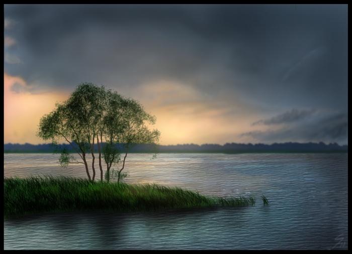 Landscape Speedpaint - Lake