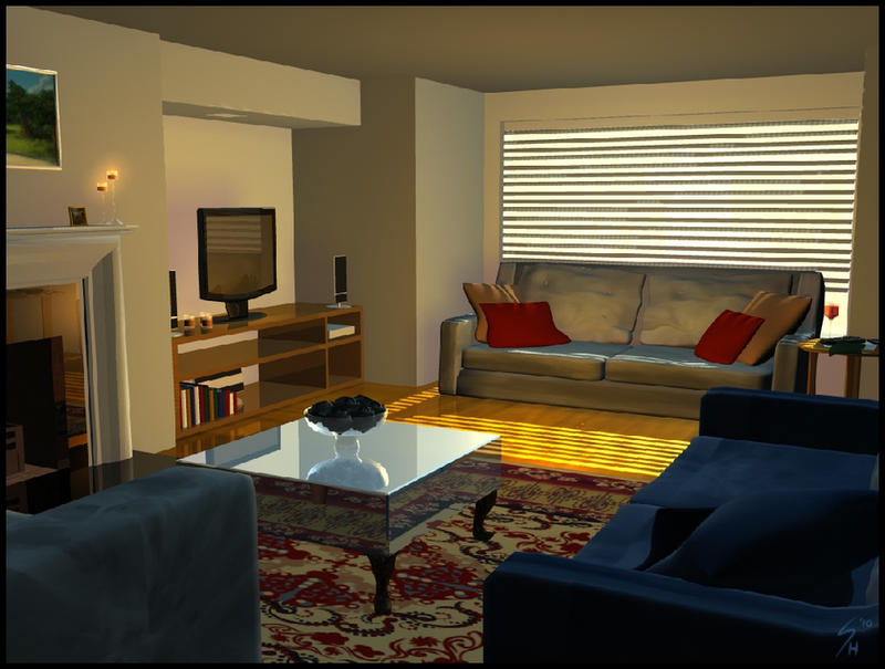 In the living room by temiree on deviantart for The living room 20 10