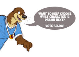 Choose what Redwall character gets drawn next!