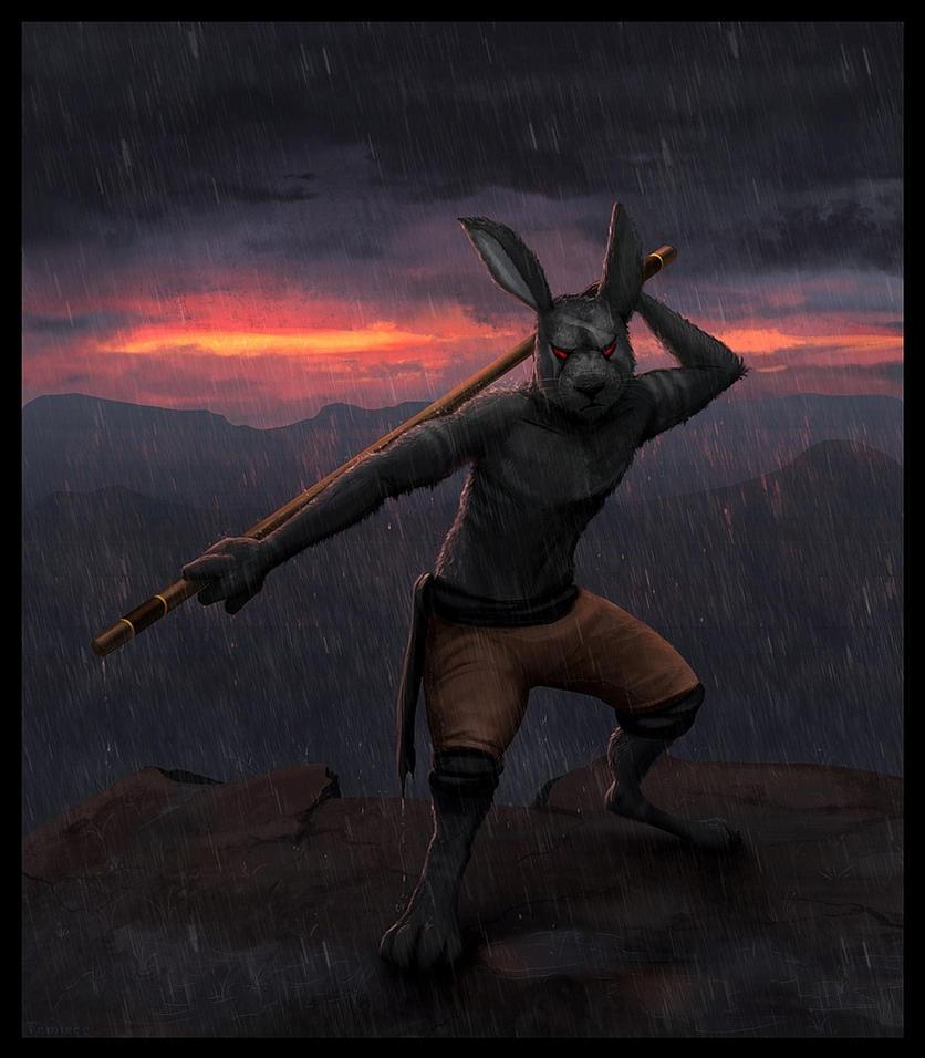Nightmare Hare by Temiree