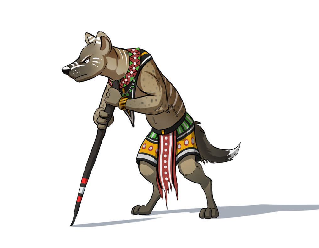 Character Design Deviantart : Hyena character design by temiree on deviantart