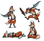 Storybook Fox (Character Design)