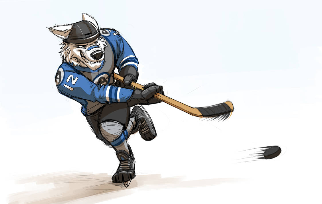 Tundratown Hockey Player (Zootopia) by Temiree