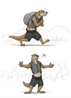An Experienced Fisherotter by Temiree