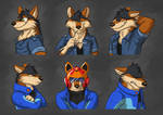 Commission: Pedro Lopaws Expression Sheet