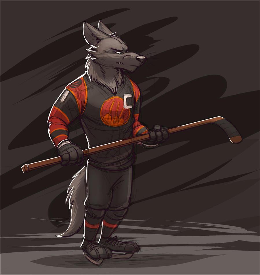 Sahara Square Predators Hockey Player (Zootopia)