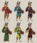 Commission: Algador's Character Design