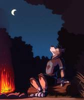 Commission: Nauno-The-Werewolf by Temiree
