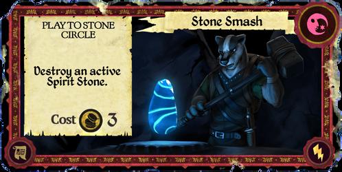 Armello Fan Card: Stone Smash