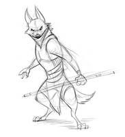 Masked Wolf by Temiree