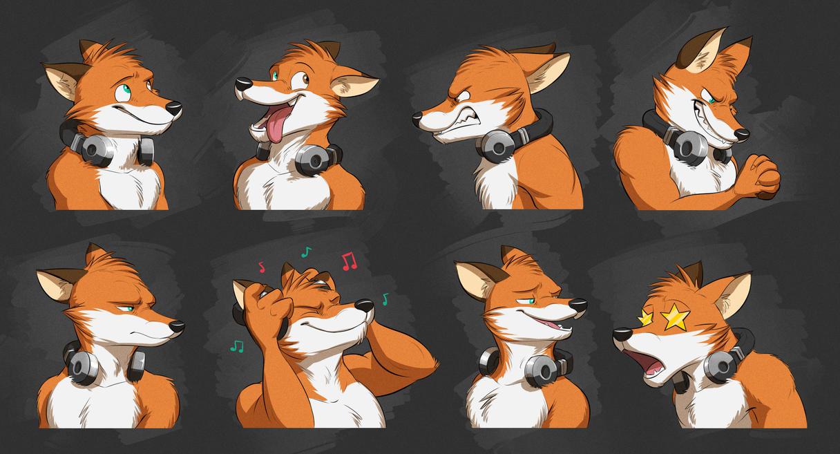 Anthropomorphic Female Fox