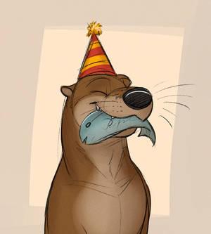Birthday Otter