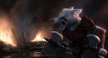 Commission: Aniki (Blood Rage) by Temiree