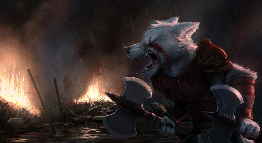 Commission: Aniki (Blood Rage)