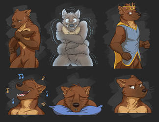 Commission: Vincent's Expression Sheet by Temiree