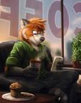 Commission: Minireddish (Good Morning)
