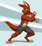 Commission: Agent00skid (Nes's Fighting Pose)