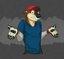 Commission: Cooper Bust (Shrugging) by Temiree