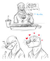 Sushi Unfamilarity by Temiree
