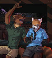 Commission: Altairey (A Fun Night Out) by Temiree