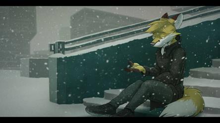 Commission: Yeezusboii (Snowflakes) by Temiree