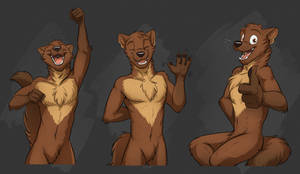 Commission: Altairey (Various Vincent Gestures) by Temiree