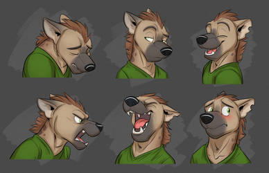 Commission: Axel's Expresson Sheet by Temiree