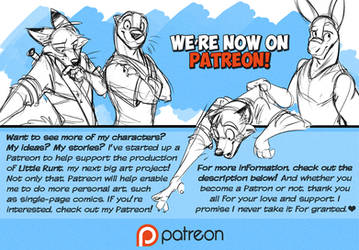 I'm Now on Patreon! by Temiree
