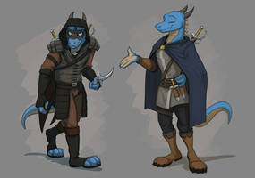Commission: Kava Drachedonian's Reference Sheet by Temiree