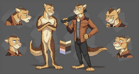 Commission: Erzaad's Reference Sheet