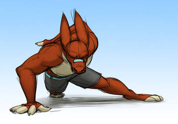One-Handed Pushups