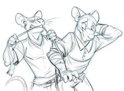 Commission: Kingmcgaw (Bonus Sketch) by Temiree