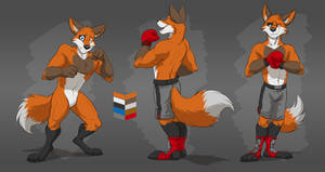 Commission: Omega Silvertip's Reference Sheet