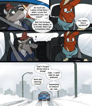 Living Somewhere Else (Comic)