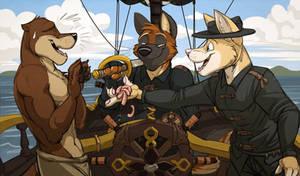 Commission: CameronBlackTD (Pirate Grub)