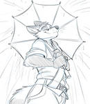 Markus with an Umbrella (Patreon Request)