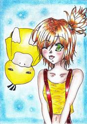 My little Psyduck :D by PitanChan
