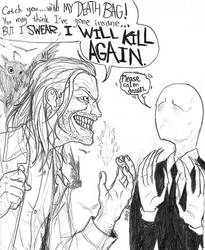 Killer BOB meets The Slender Man