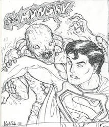 Superman VS Parasite