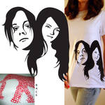 White Stripes T-Shirt by Alley9