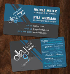 Creative Studio Business Card by Alley9