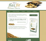 FlaxFit Website Design by Alley9