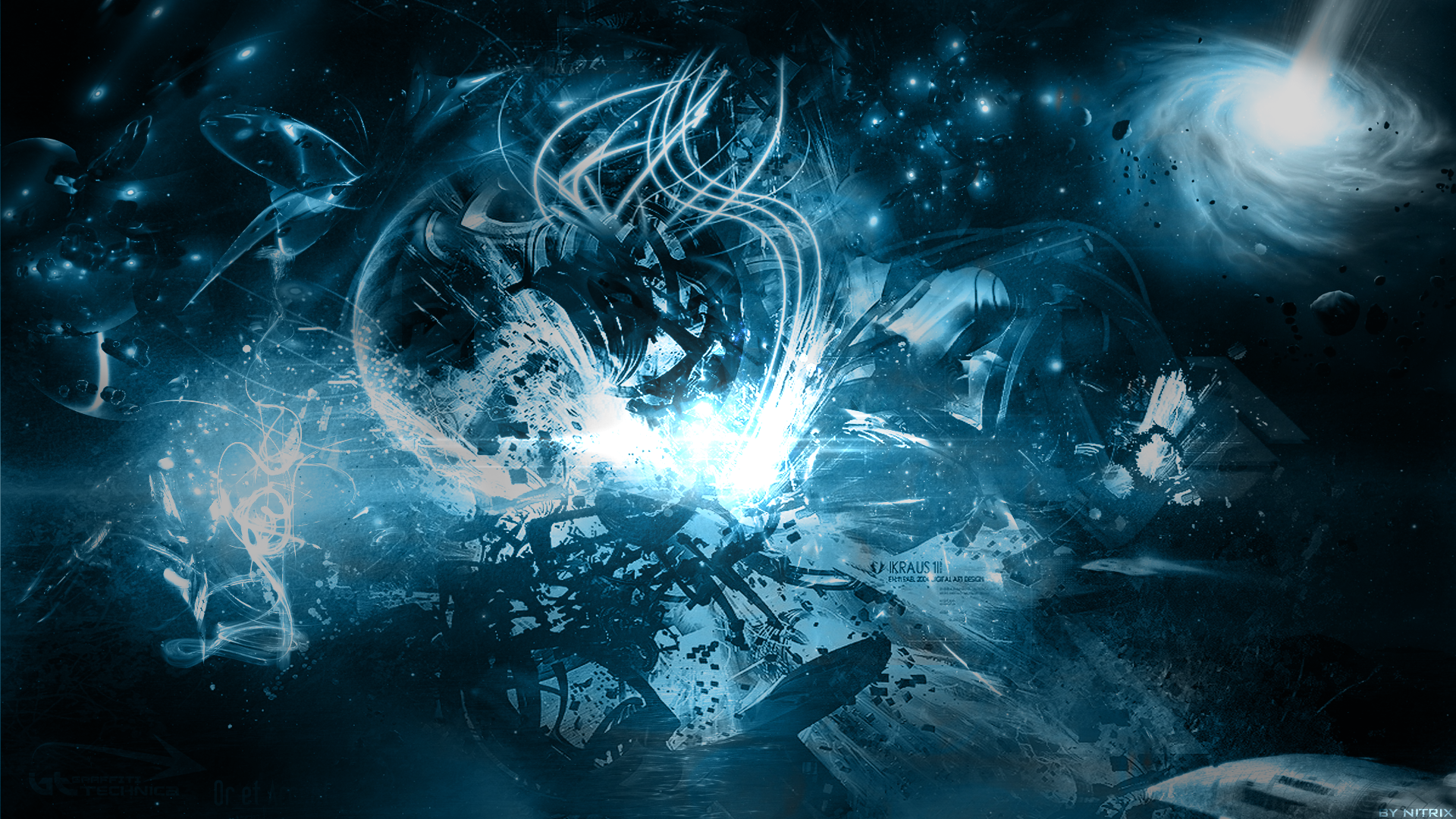 space abstract wallpaper 2 by nitr1x on deviantart