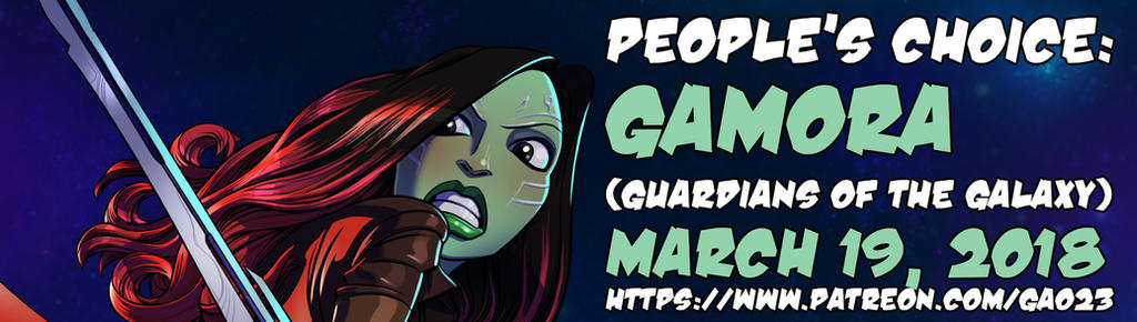 Gamora patreon promo by gao23