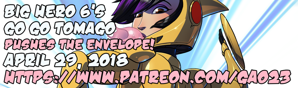 Go Go Tomago patreon promo by gao23